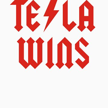 Tesla Wins by racooon