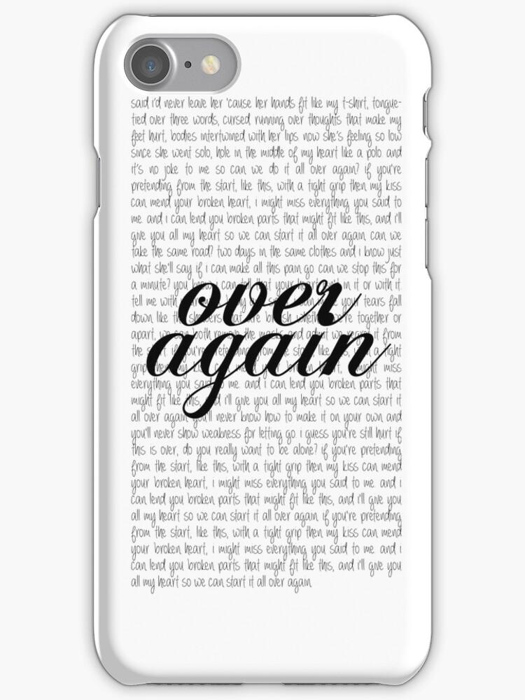 """Over Again"" One Direction lyrics by laufeyson"