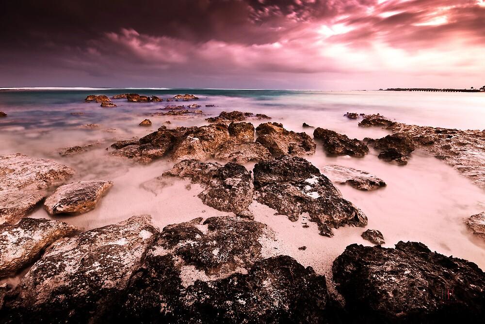 Sunset in Cancun by Gil Folk