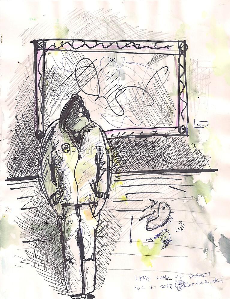 MY WALL OF SHAME(C2012) by Paul Romanowski