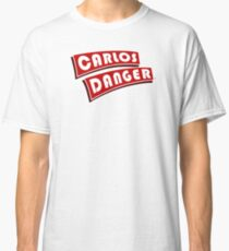 Carlos Danger aka Anthony Weiner T-Shirt Plain Classic T-Shirt