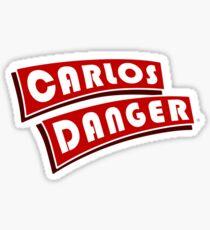 Carlos Danger aka Anthony Weiner T-Shirt Plain Sticker