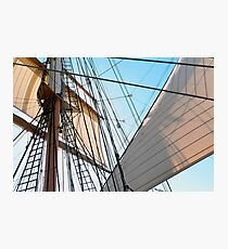 Barque At The Bay Photographic Print