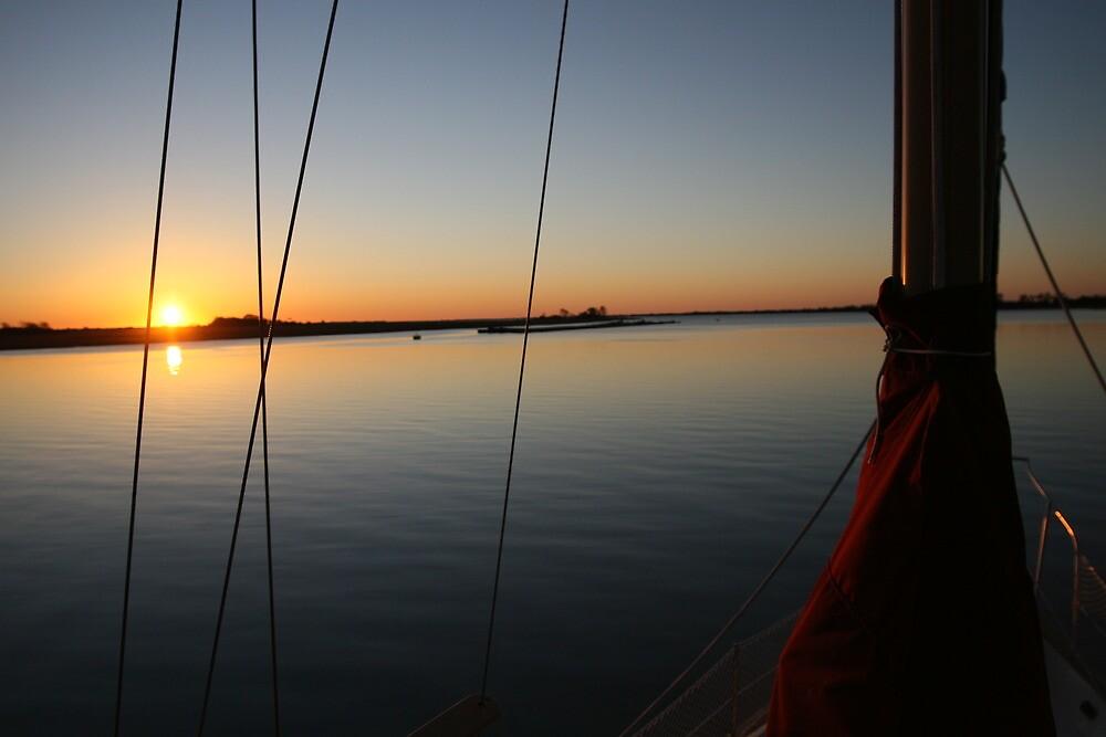 South Carolina Sailboat view by Robert Taylor