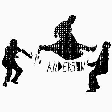 Mr Anderson. by pARTnersInCrim3