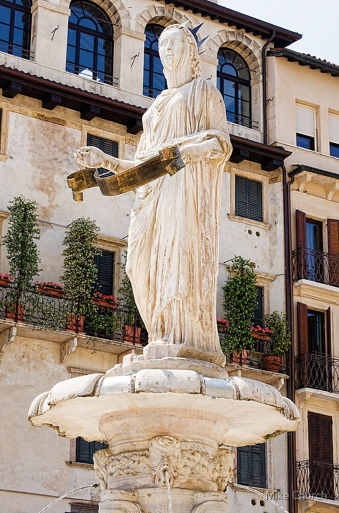 The Fountain of Madonna Verona by Mike Church