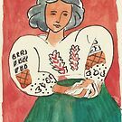 Postcards from Europe -  a study of Matisse by Gary Shaw