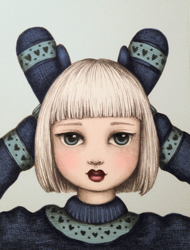 Snow Bunny by Emma Hampton