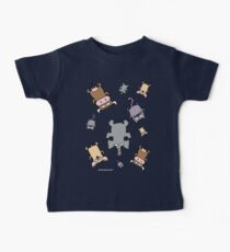 Raining cats and dogs and cows and elephants Baby Tee