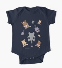 Raining cats and dogs and cows and elephants One Piece - Short Sleeve