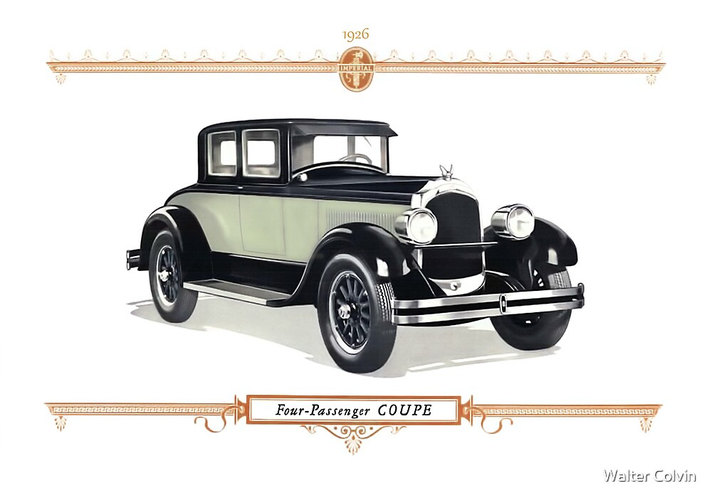 1926 Chrysler Coupe by Walter Colvin