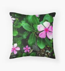 Busy Lizzies? Throw Pillow