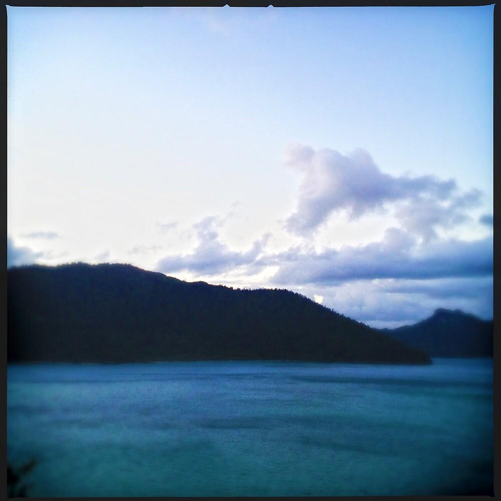 Sunrise Over Whitsunday Island by Niki Smallwood