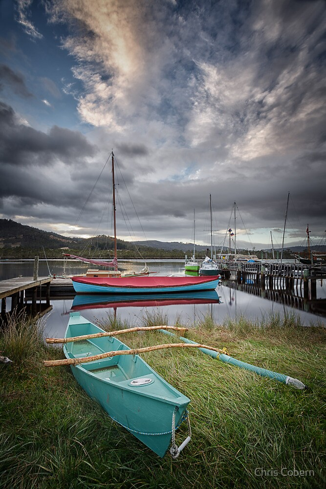 Early Morning, Franklin, Tasmania #8 by Chris Cobern