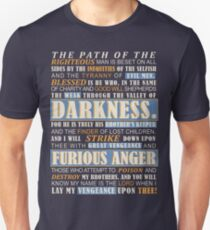 Pulp Fiction: Ezekiel 25:17 T-Shirt