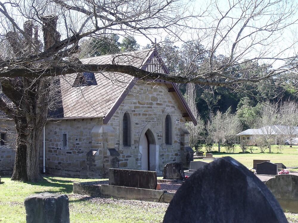 St Mary's Allynbrook by Judy Woodman