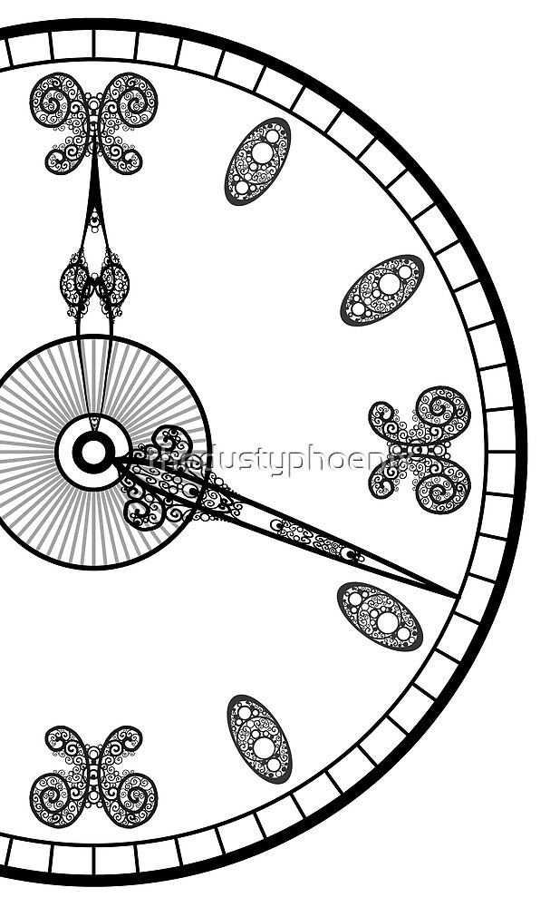 Clock Face by thedustyphoenix