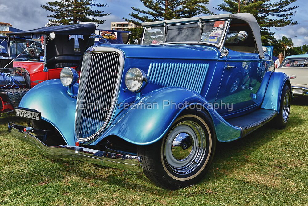 Blue Ford by Emily Freeman Photography