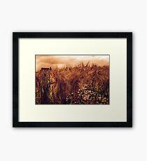 A rural view Framed Print