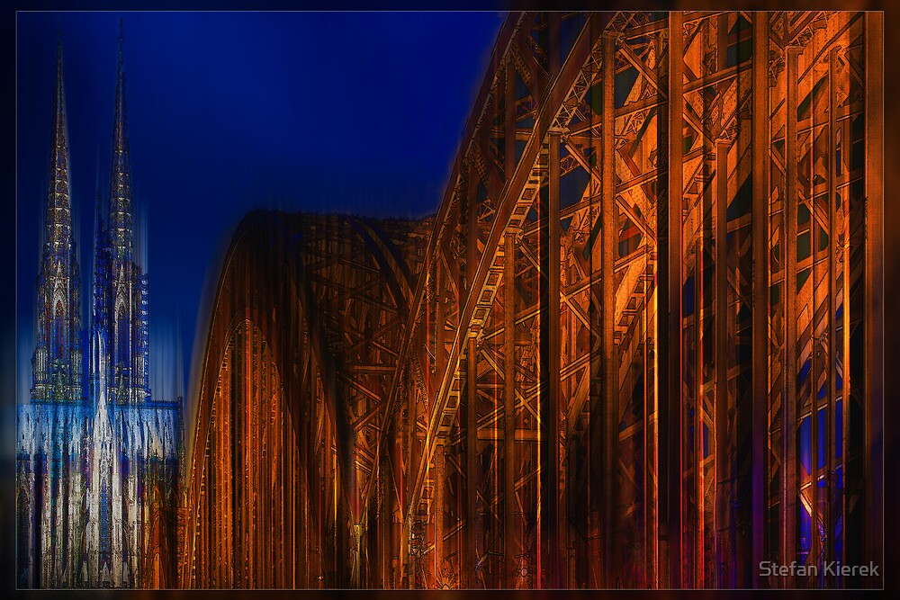 The Cathedral and a Bridge in motion by Stefan Kierek