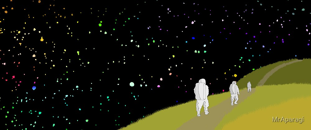 Space Trek by MrAparagi