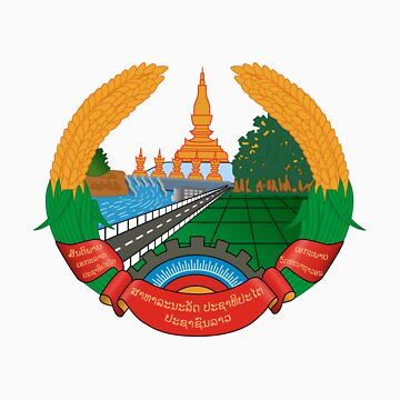 Laos National Emblem by charlieshim