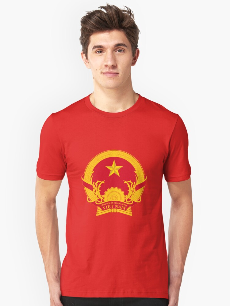 Vietnam National Emblem T Shirt By Charlieshim Redbubble