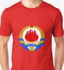 1e509a0fb Socialist Yugoslavia Emblem Slim Fit T-Shirt
