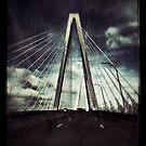 The Cooper River Bridge by Eva Crawford