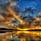 Recollections - Narrabeen Lakes - Sydney  Australia - The HDR Experience by Philip Johnson
