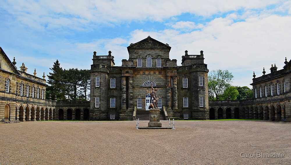 Seaton Delaval Hall by Carol Bleasdale