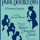PARK DOUBLE TWO (vintage illustration) by ART INSPIRED BY MUSIC