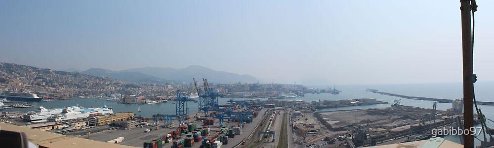 Great view of Genova by gabibbo97