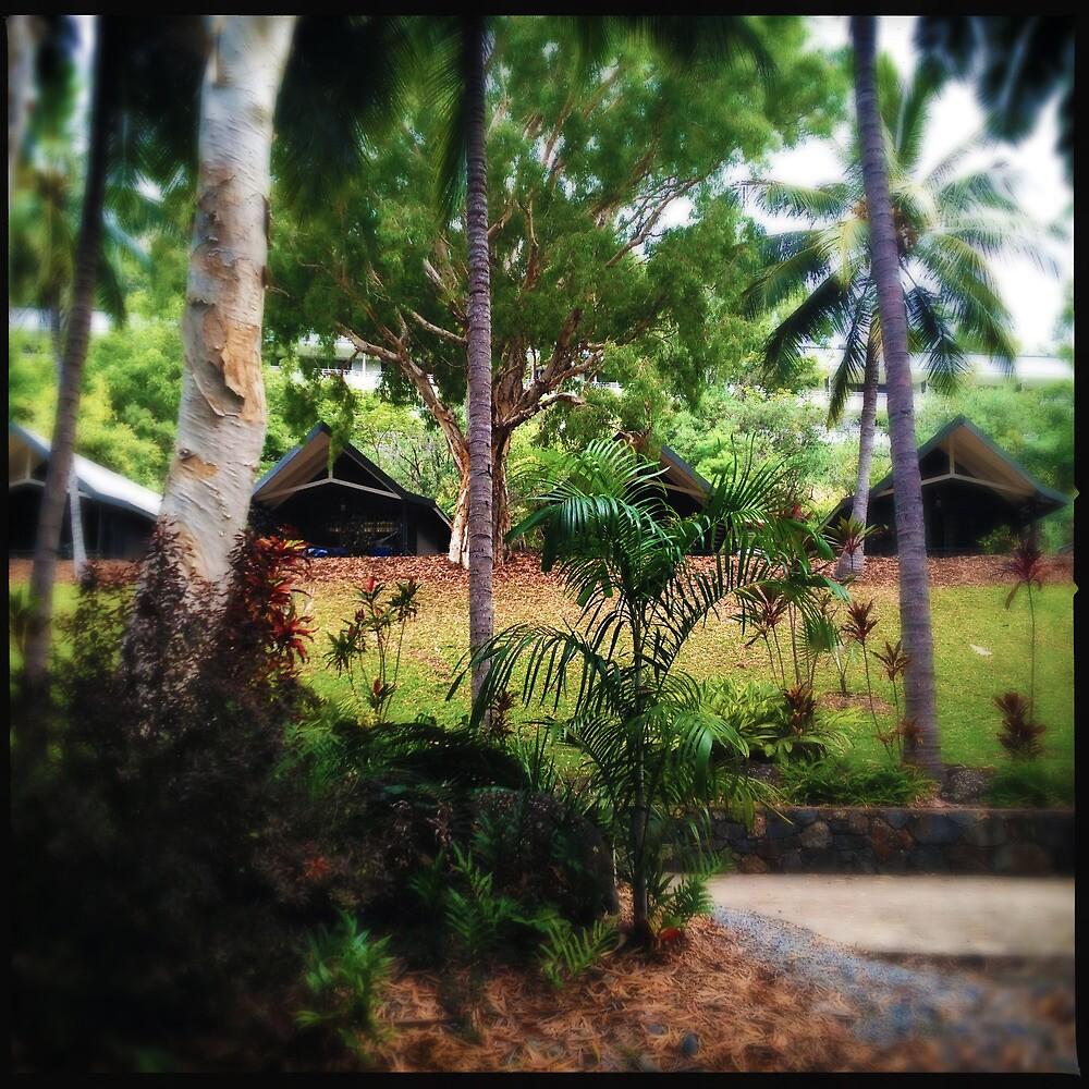 Palm Bungalows by Niki Smallwood