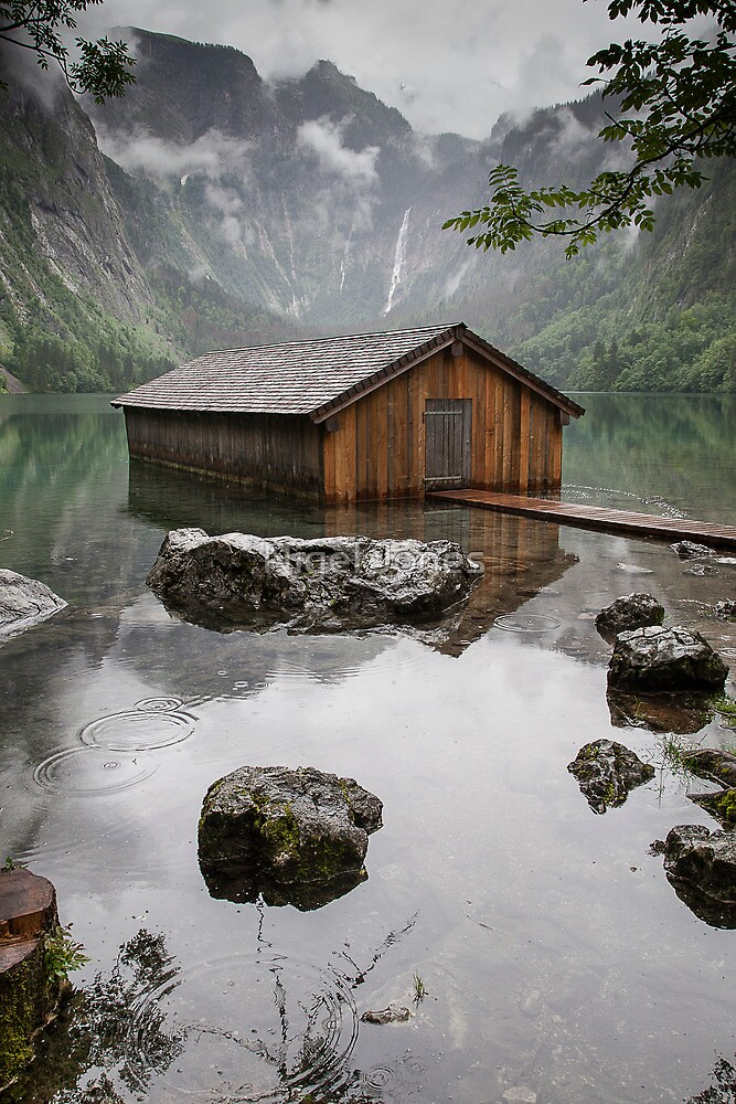 Obersee Boathouse by Nigel Jones