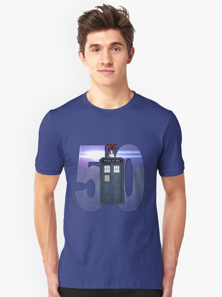 50th Anniversary Unisex T-Shirt Front