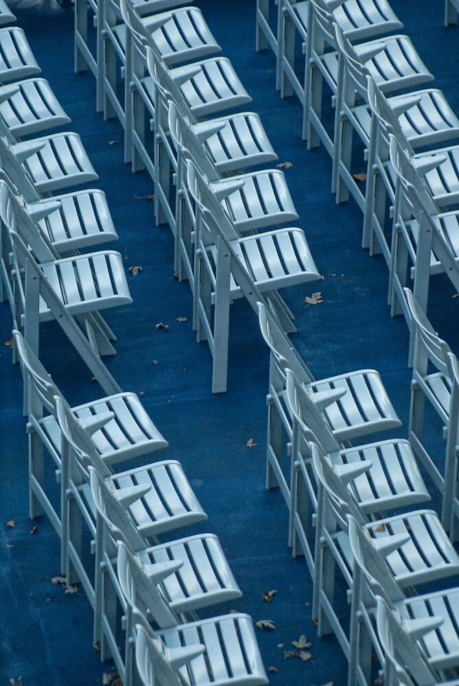Chairs in Chicago No. 4618 by Randall Nyhof