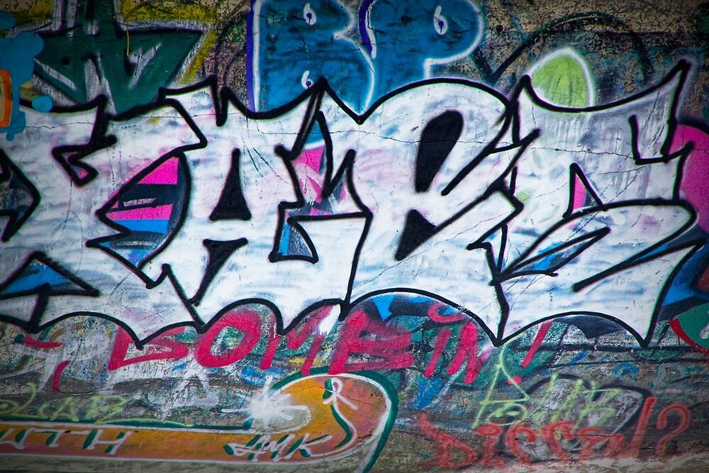 Graffiti in Edmonton No. 1125 by Randall Nyhof