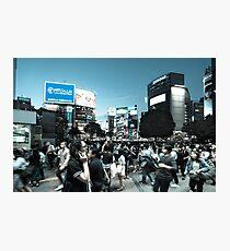 Shibuya Intersection Photographic Print