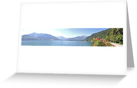 Zell Am See Lake: Panoramic by CreativeEm