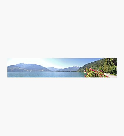 Zell Am See Lake: Panoramic Photographic Print