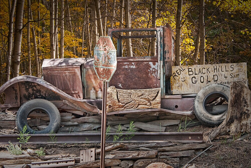 Black Hills Gold Truck Sign by Randall Nyhof