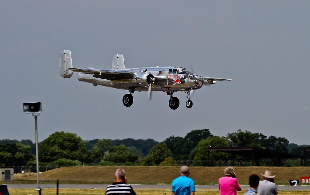 B25 Mitchell Bomber by PhilEAF92