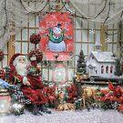Santa Takes A Prayer Break by wiscbackroadz