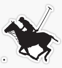Polo Pony Silhouette Sticker