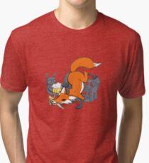 Bad Fox Tri-blend T-Shirt