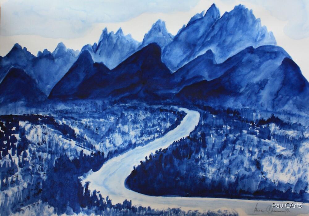 Blue Mountain Grandeur by PaulCArts