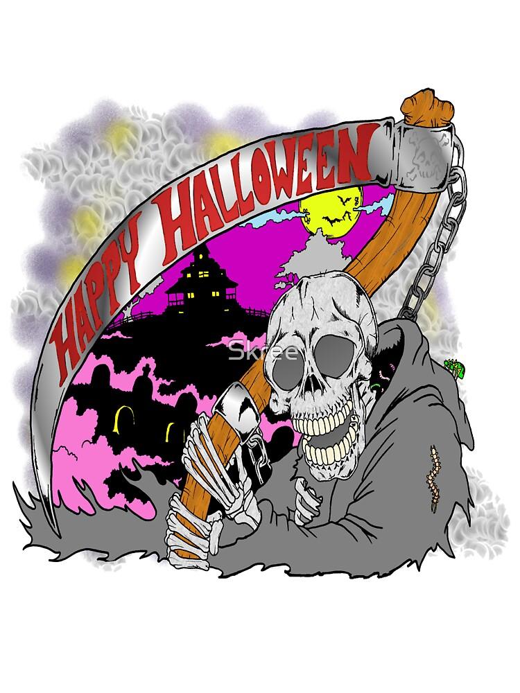 Reaper Halloween by Skree