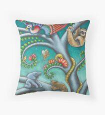 Tree o Life triptych - panel 2 Throw Pillow