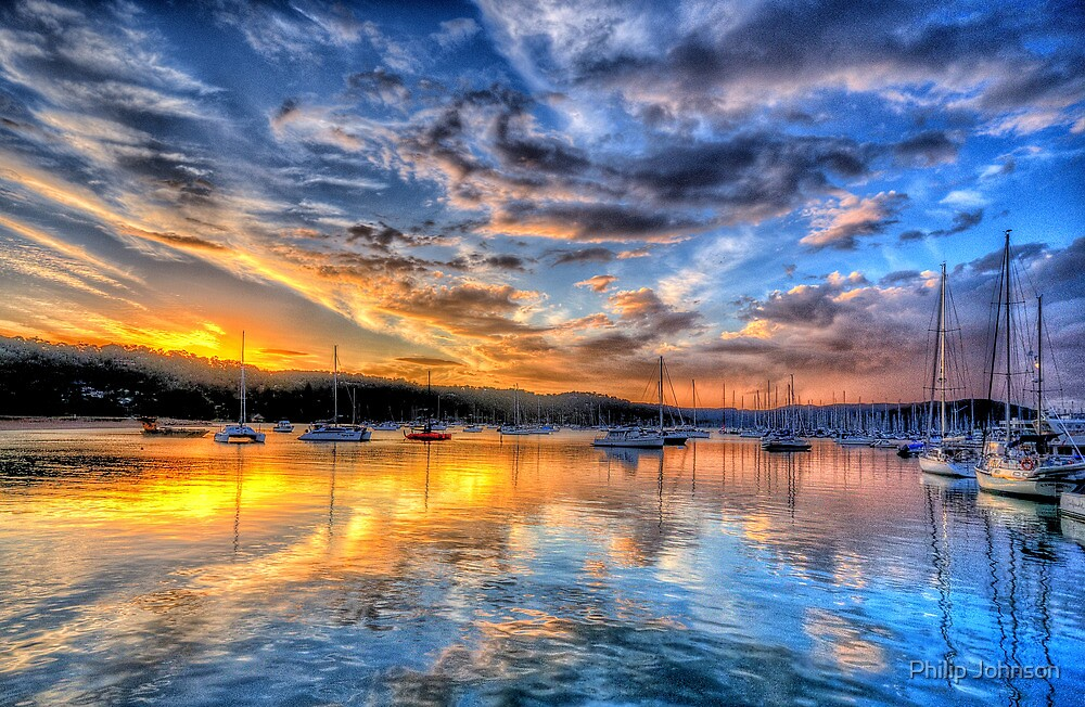 Painters Canvas - Newport NSW - The HDR Experience by Philip Johnson